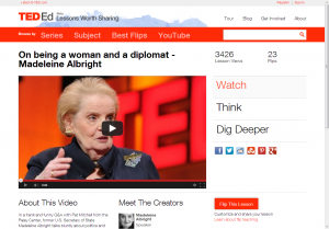 madeleine albright, women and power